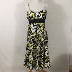 Retro print cocktail dress - ready to go out!